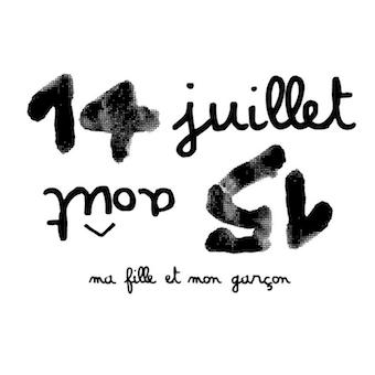 logo de la marque 14 juillet 15 aout