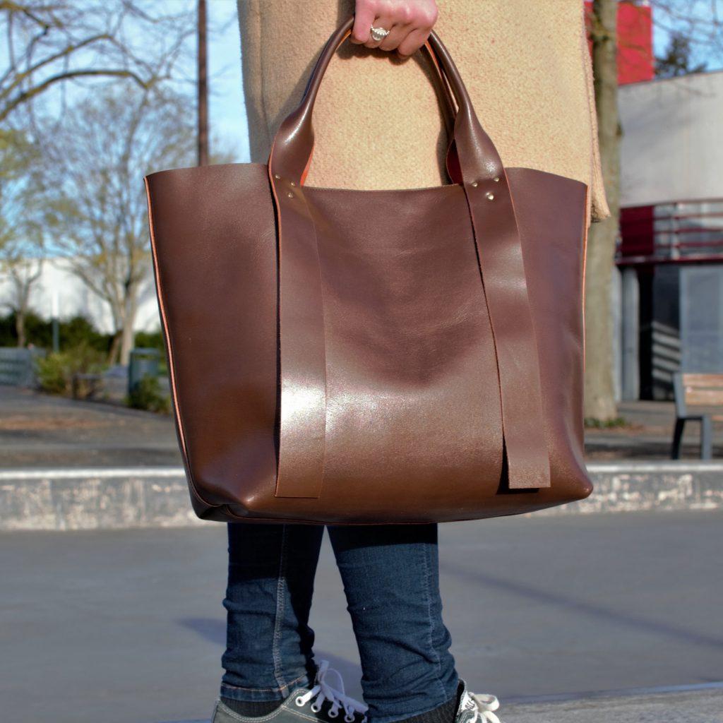 sac de créateur fabriqué en France