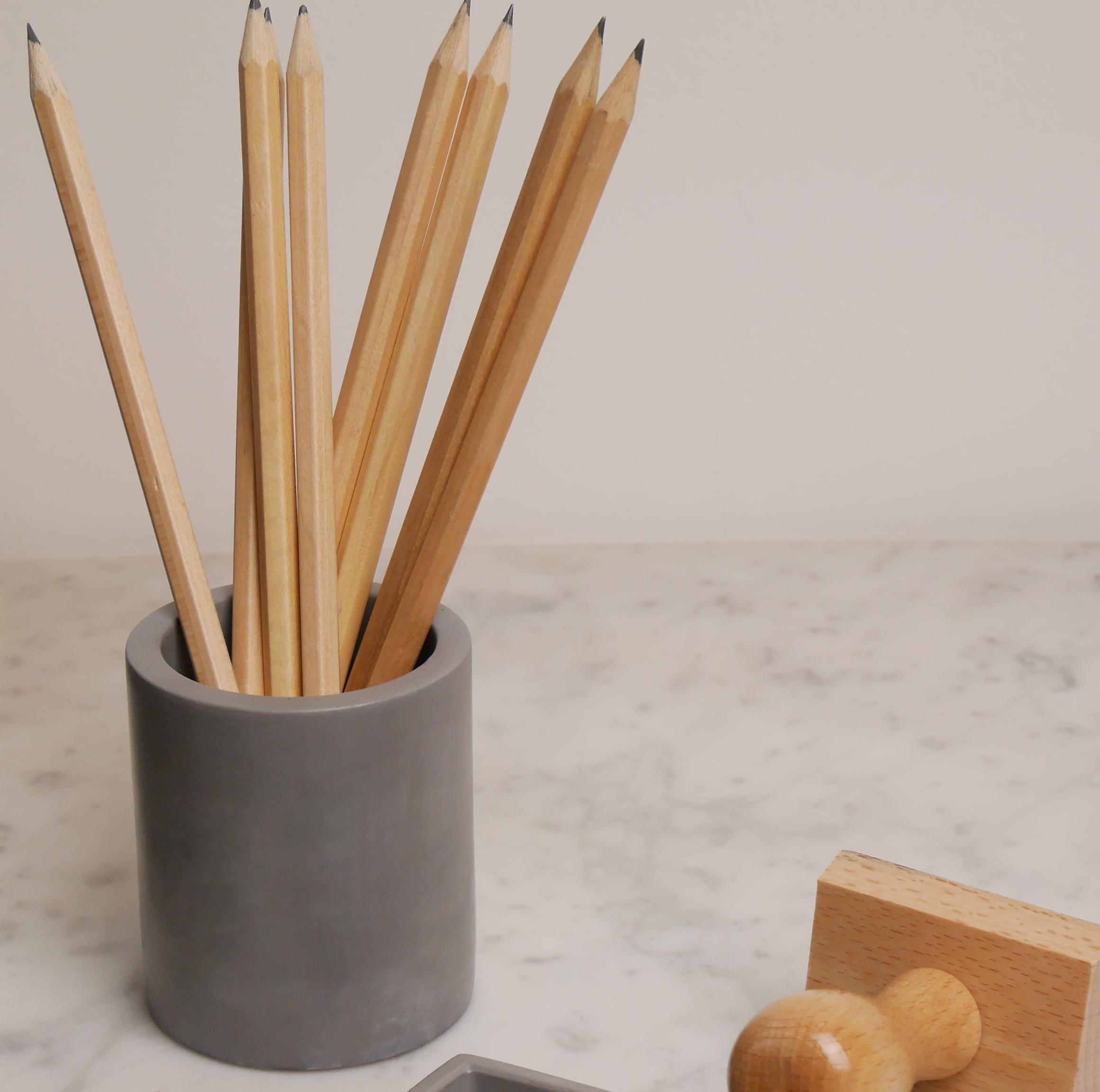 Pot en béton fabrication française